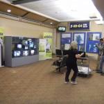 TV Wall on display at EIA