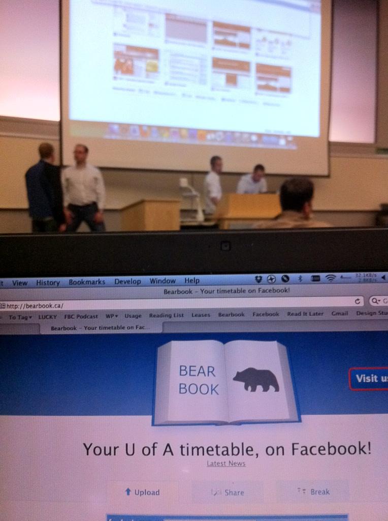 Bearbook brings demo back!