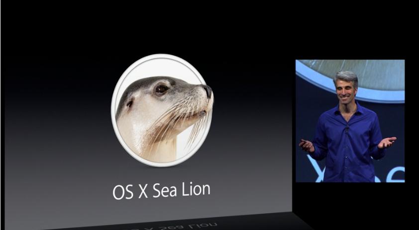 os x sea lion